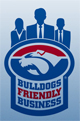 Bulldogs Friendly Business logo